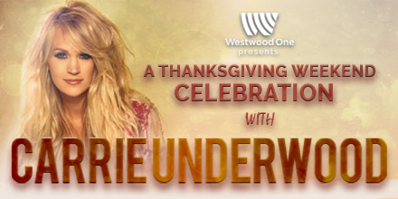 Thanksgiving Weekend Celebration with Carrie Underwood